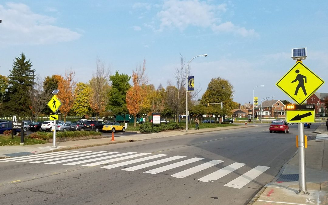 The Spectacular Seven: Introducing the FHWA's new pedestrian safety countermeasures