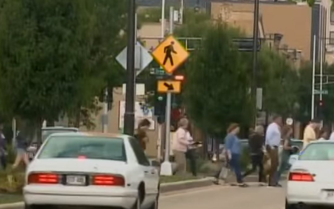 Safety Improvements Made on College Avenue Crosswalk in Appleton, WI