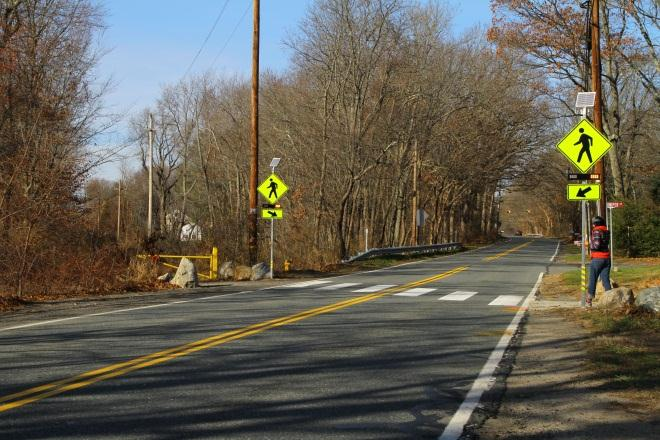 Topsfield, Massachusetts, Improves Trail Crossing Safety with RRFBs