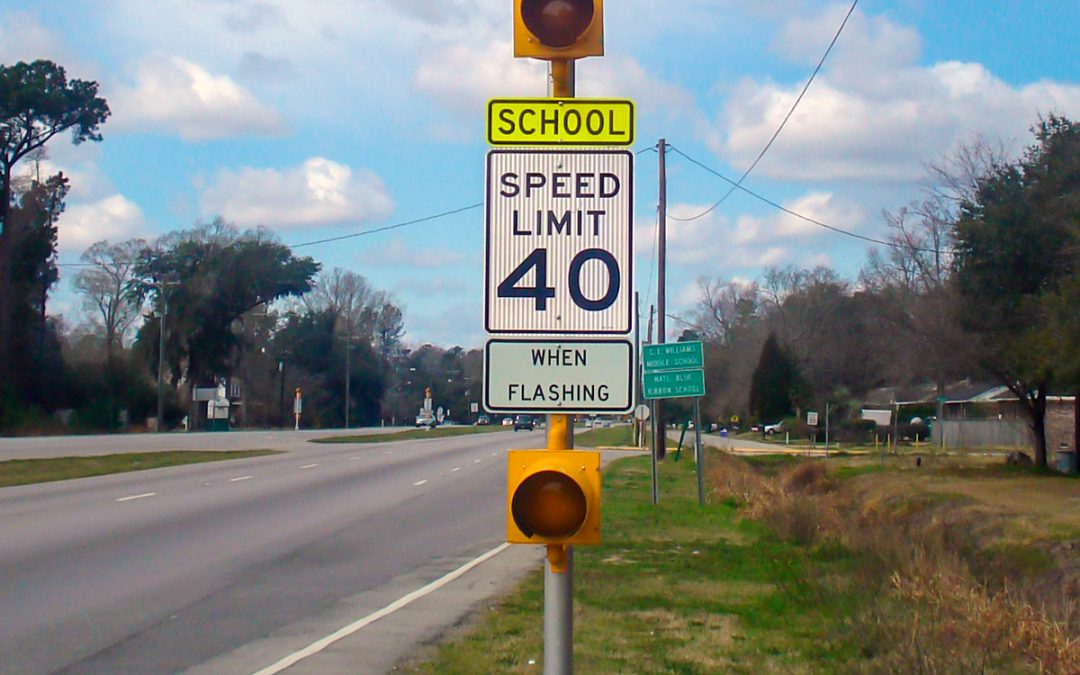 Carmanah Solar Flashing Beacons Improve School Zone Safety in Time for Back to School
