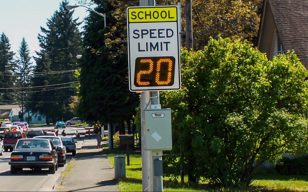 SpeedCheck Signs Keep Children Safe During Critical Hours in Springfield, WA