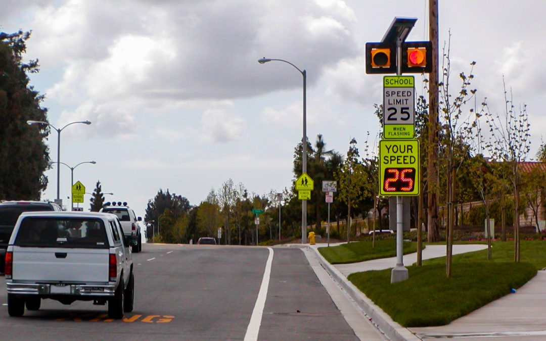Radar Speed Signs Used Throughout the City of Stamford, Connecticut, to Increase School Zone Safety