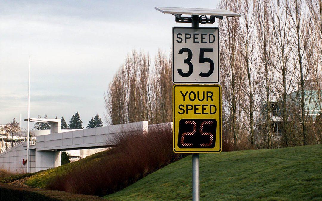 School Zone Safety Part 3: Radar speed signs