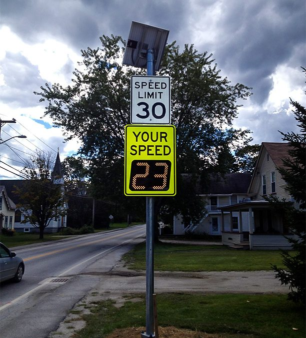 Naperville Township finds New SpeedCheck Driver Feedback Displays an Ideal Solution For Improving School Zone Safety