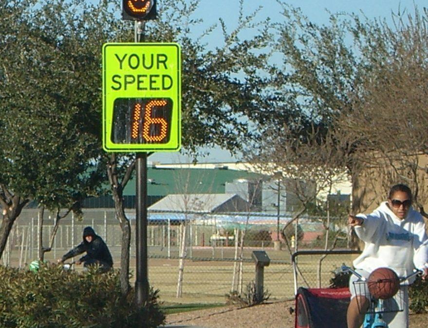 Radar Speed Signs Top Traffic Calming List