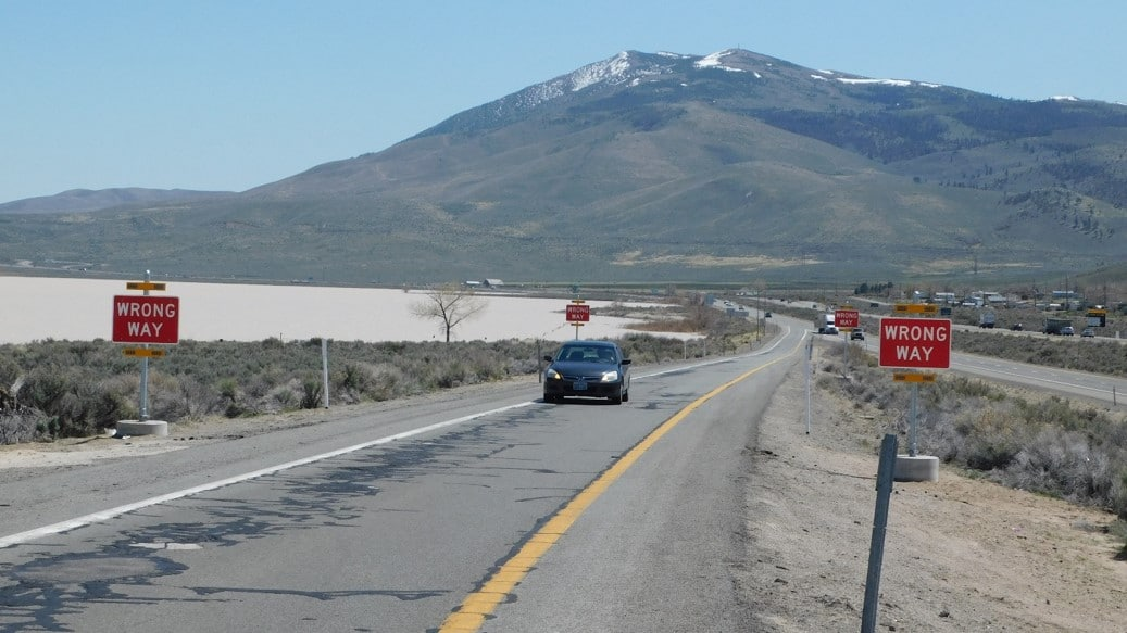 Nevada aims to reduce wrong-way driving with new detection and warning system