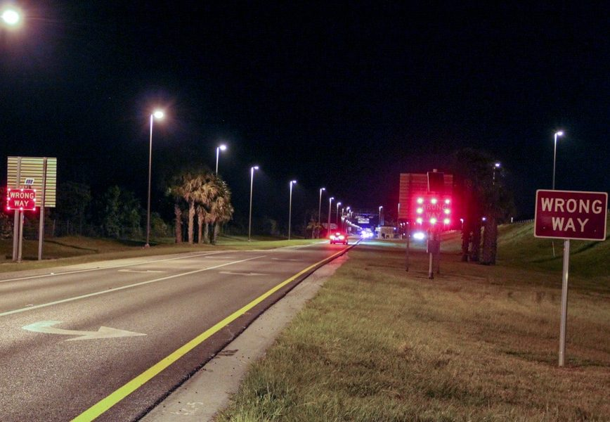 Florida puts wrong-way drivers in its sights with new vehicle detection systems