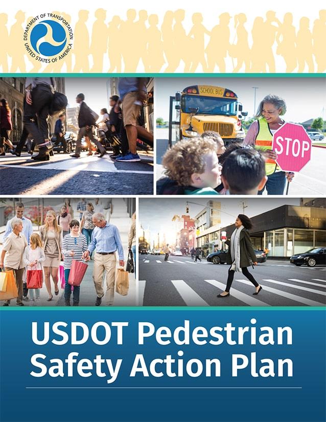FHWA USDOT pedestrian safety action plan cover