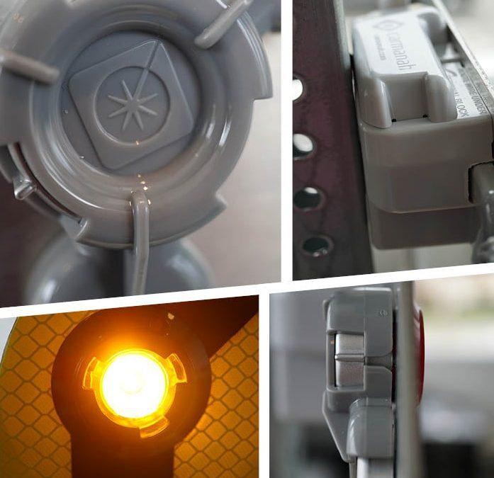 Carmanah's LED Enhanced Flashing Signs