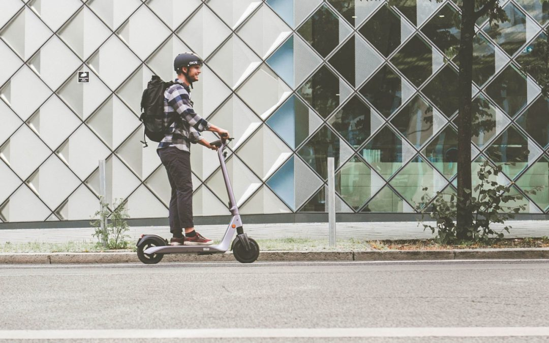 Finding space for micromobility: Guidelines for sidewalk regulations and pedestrian safety