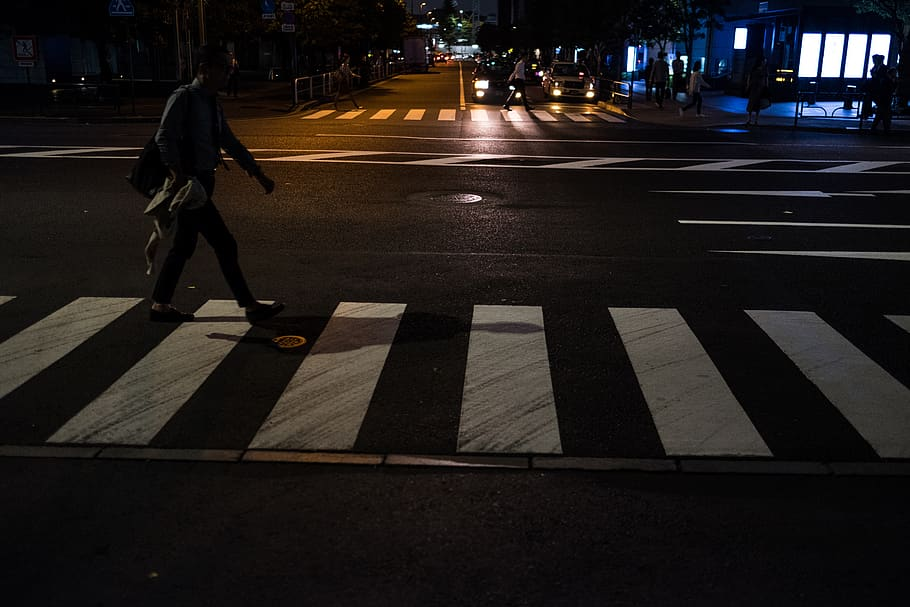 Improve crosswalk safety after dark with purpose-built pedestrian-scale lighting