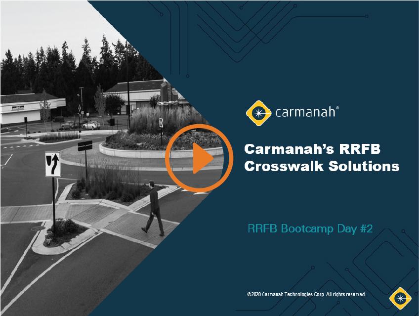 rrfb bootcamp day 2 carmanah rrfb crosswalk solutions