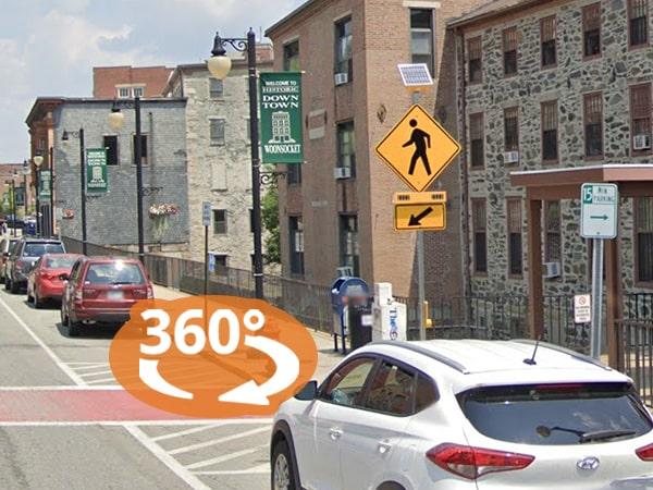 Virtual Product Tour: RRFB Crosswalks in Woonsocket, Rhode Island