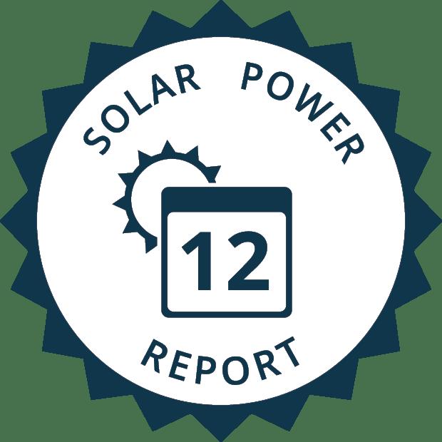 solar power report icon