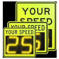 speedcheck-12 fyg static signs