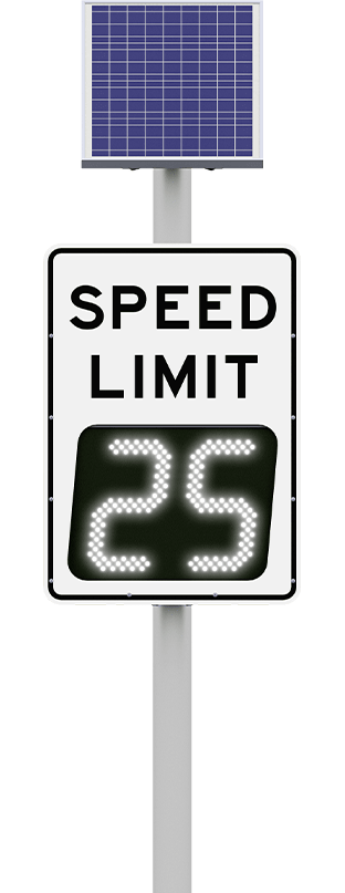 speedcheck digital variable speed limit sign display
