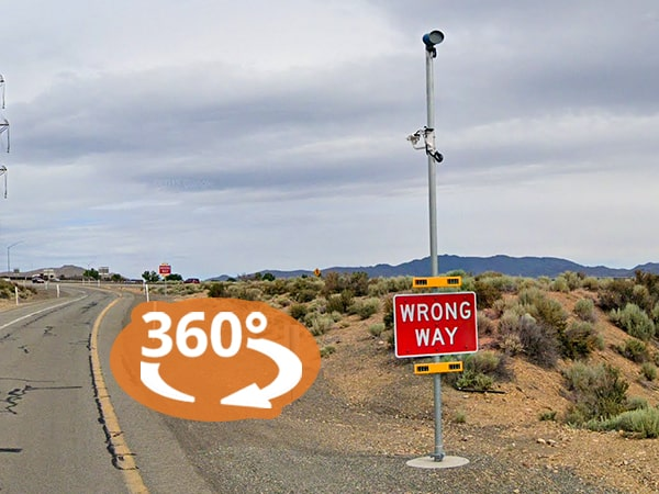 Virtual Product Tour: Wrong-Way Driver Systems in Reno, Nevada
