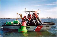 Deploying Carmanah 700 Series on buoy