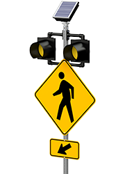 r820-e crosswalk flashing beacon product hero shot