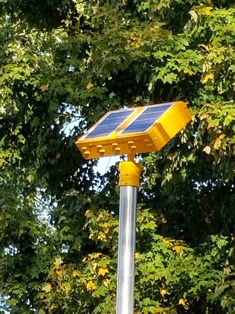 minor shading on a solar panel example