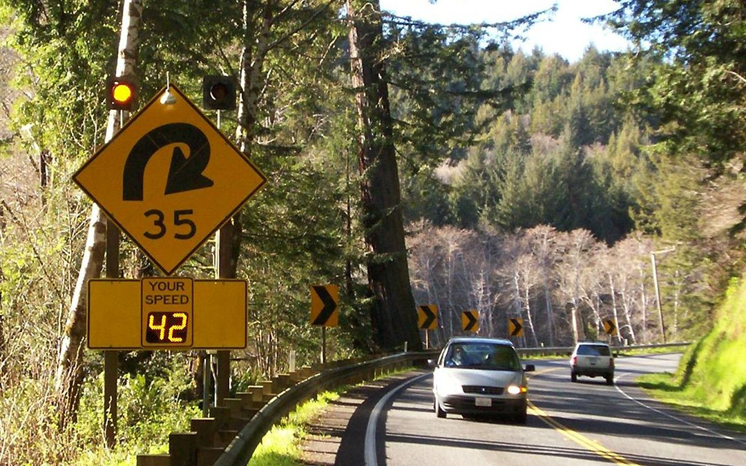 Dangerous Curves on the Redwood Highway