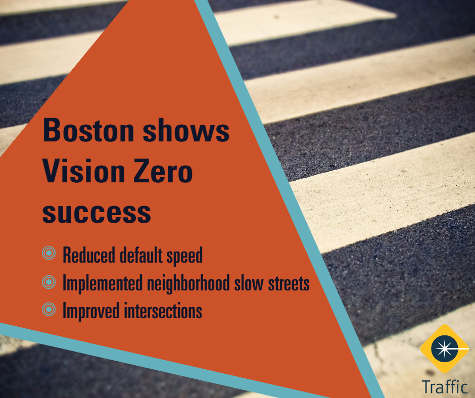 Vision Zero success in Boston