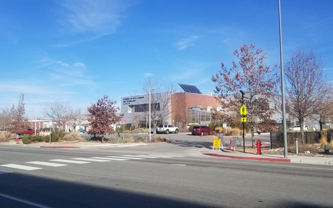 Nevada high school boosts safety with new RRFB crosswalk