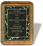 Canadian Institute of Energy Award