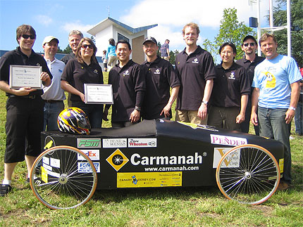 Carmanah Technologies at the Canary Soapbox Derby