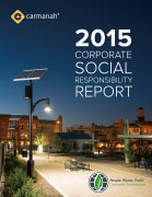 2015 carmanah CSR report cover