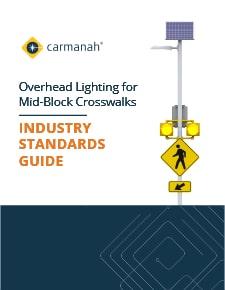 overhead lighting for mid-block crosswalks industry standards guide thumbnail