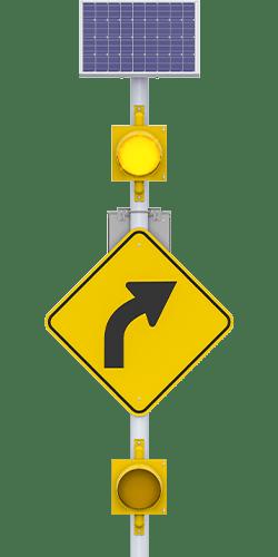 carmanah r247-g 24-hour flashing beacon