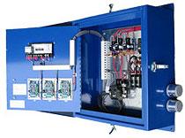 Carmanah's propietary PV3 solar power controller.