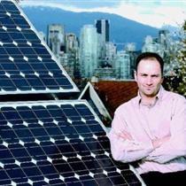 Sustainable-energy advocate Scott Sinclair